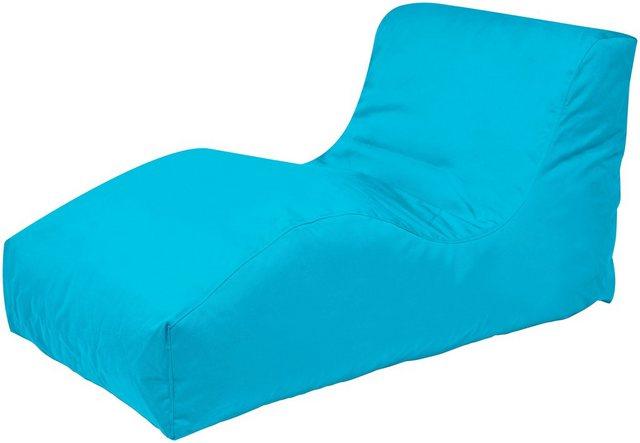 OUTBAG Wave Outdoor-Liege Sitzsack plus aqua/blau (1 Stück)