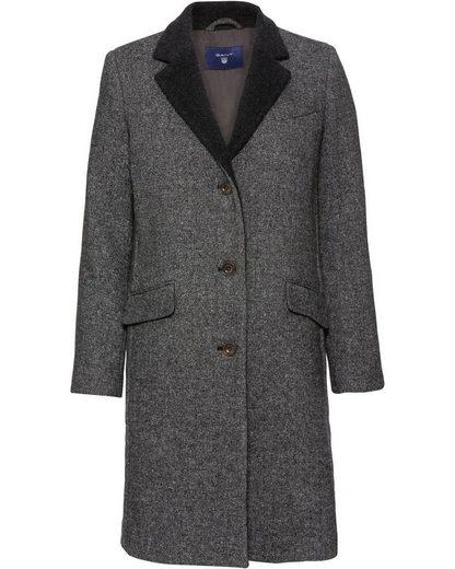 Gant Langmantel »Mantel mit Kontrastkragen«
