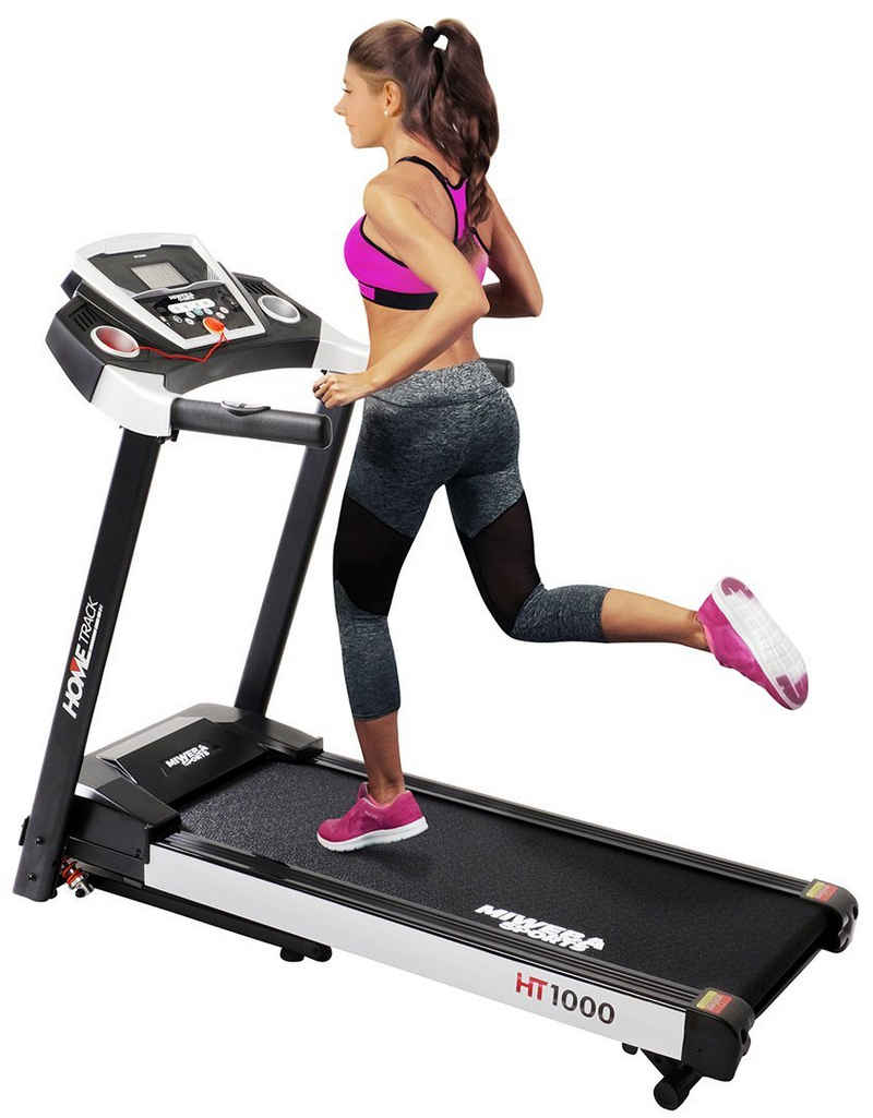 Miweba Sports Laufband »HT1000«, Incline 6% - Klappbar - 3,5 PS - 16 km/h max. - Tablet Halterung