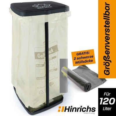 Hinrichs Müllsackständer »Müllsackhalter mit Deckel und Klemmring«