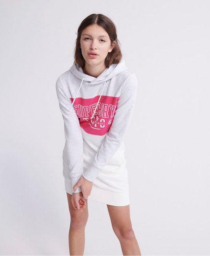 Superdry Sweatkleid »TRACK & FIELD SWEAT DRESS« mit seitlichen Eingrifftaschen