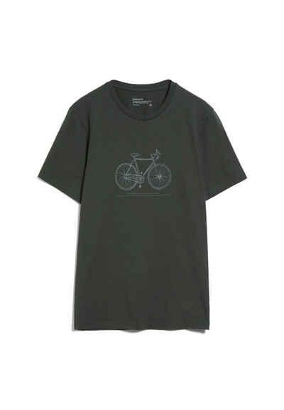 Armedangels Print-Shirt »JAAMES TECH BIKE Herren T-Shirt aus Bio-Baumwolle« (1-tlg)