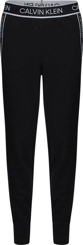calvin klein performance -  Jogginghose »PW - KNIT PANTS« mit seitlichem Calvin Klein Logo-Schriftzug