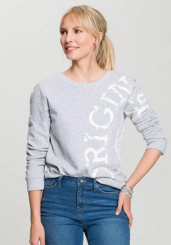 H.I.S Sportinio stiliaus megztinis su Retro-...