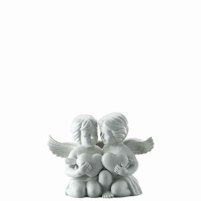 Rosenthal Engelfigur »Engel gross Weiß matt Engelpaar mit Herz« (1 Stück)