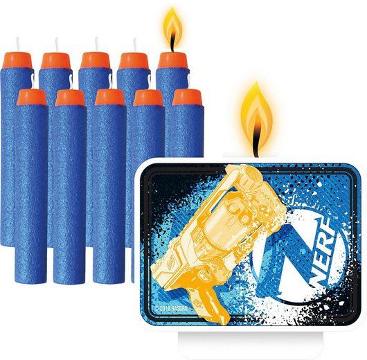 Amscan Formkerze »11 Kerzen Nerf«