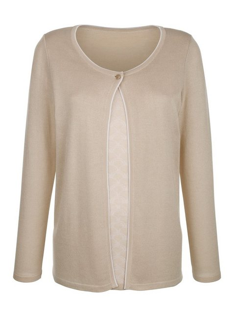 Paola 2-in-1 Pullover mit Strickmuster | Bekleidung > Pullover > 2-in-1 Pullover | Paola
