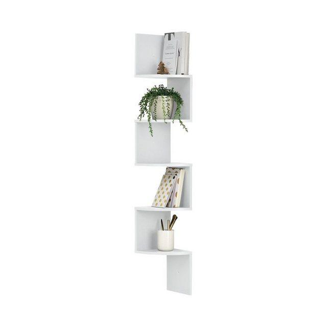 Küchenregale - en.casa Eckregal, »Lysaker« Wandregal mit Ablagefächer in verschiedenen Farben  - Onlineshop OTTO