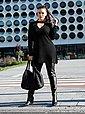 Sara Lindholm by Happy Size Lederimitat-Leggings, Bild 15