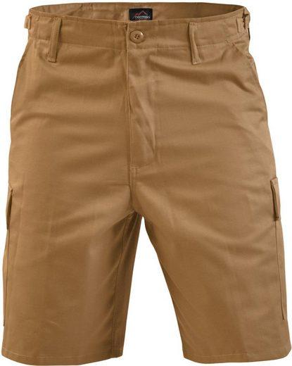 normani Bermudas »Herren BDU Shorts Dasht« Bermuda kurze Sommerhose mit Cargotaschen für Herren