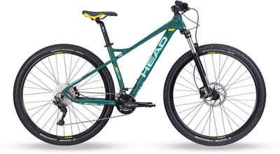 Head Mountainbike »X-Rubi Lady«, 20 Gang Shimano Deore RDM4120 Schaltwerk, Kettenschaltung