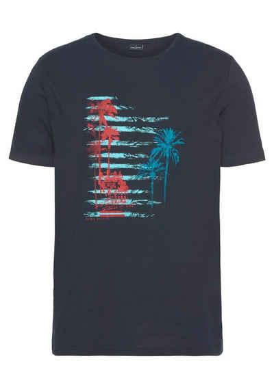 Daniel Hechter T-Shirt Palmenmotiv