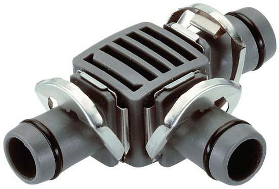 "GARDENA T-Stück »Micro-Drip-System, 08329-20«, 13 mm (1/2""), 2 Stück"