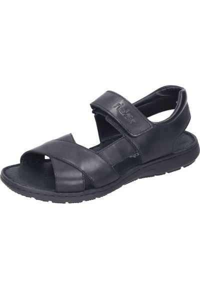 Rieker »Sandaletten« Outdoorsandale aus echtem Leder