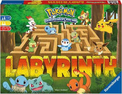 Ravensburger Spiel, Familienspiel »Pokémon Labyrinth«, FSC® - schützt Wald - weltweit; Made in Europe
