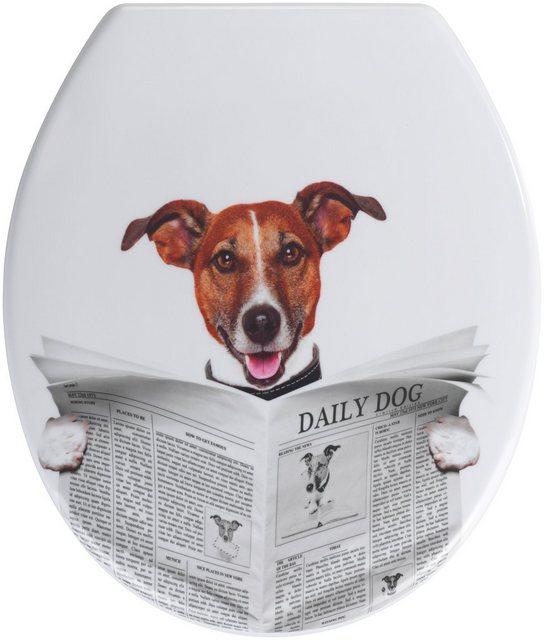 WCs und Zubehör - WENKO WC Sitz »Daily Dog«  - Onlineshop OTTO