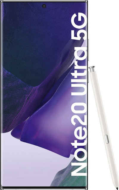 Samsung Galaxy Note20 Ultra 5G Smartphone (17,45 cm/6,9 Zoll, 256 GB Speicherplatz, 108 MP Kamera)