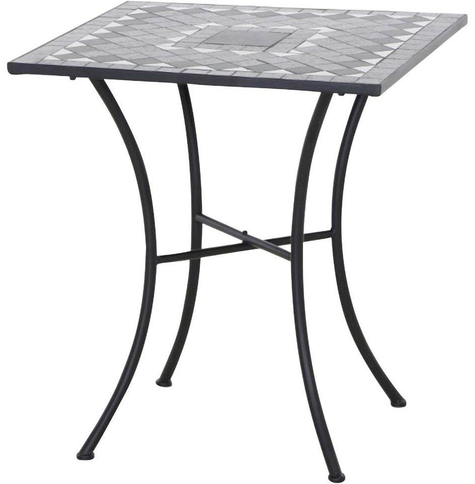 Siena Garden Tisch Como Aluminium 60x60 Cm Otto