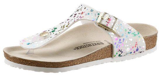 Birkenstock »Gizeh Inspired« Zehentrenner mit ergonomisch geformtem Fußbett