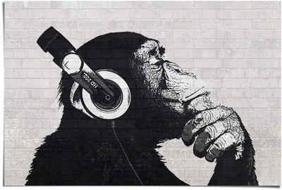 Reinders! Poster »Poster Schimpanse Wand«, Affen (1 Stück)