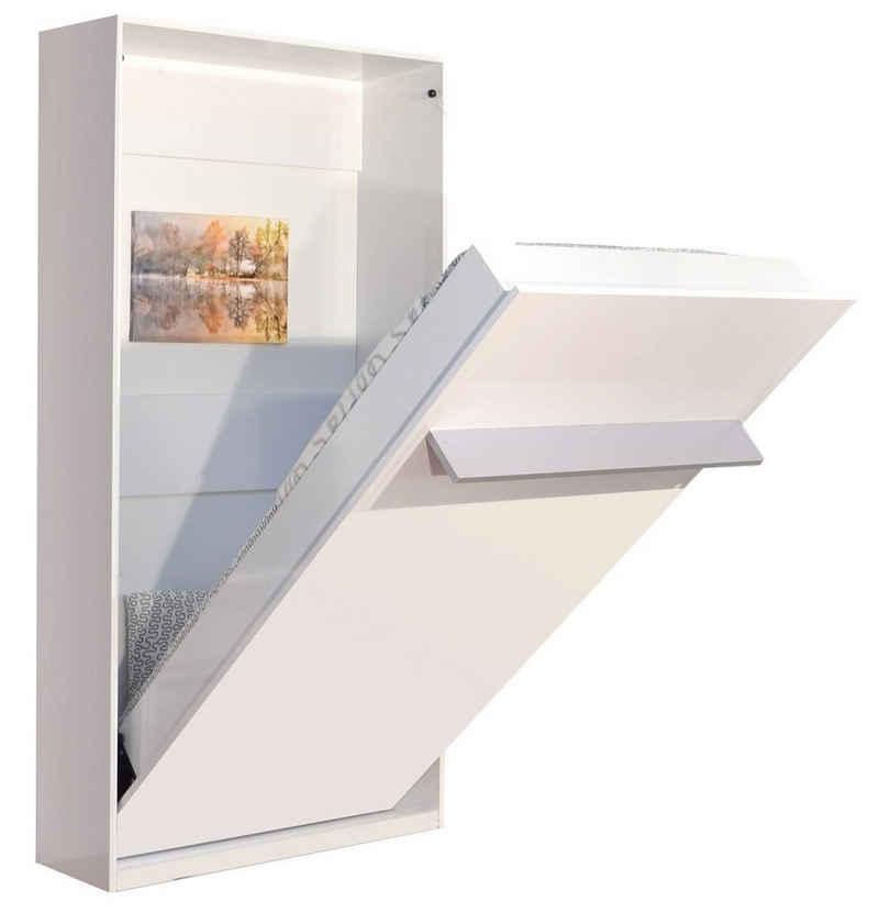 Multimo Schrankbett »PRIMER HAPPY Wandbett / Schrankbett, 90x200 cm« vertikal klappbar