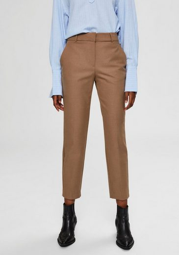 SELECTED FEMME Anzughose in stylisher Cropped-Länge
