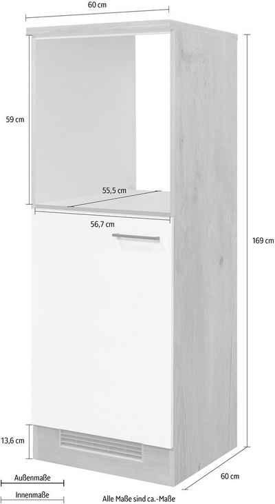 Flex-Well Backofen/Kühlumbauschrank »Morena« 60 cm breit