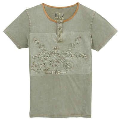 MarJo Trachtenshirt mit Prägedruck