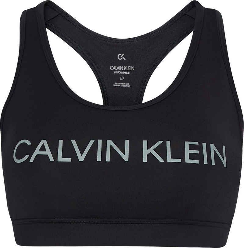 Calvin Klein Performance Sport-Bustier »WO - Medium Support Sports Bra« mit Trägern für mittelstarken Halt