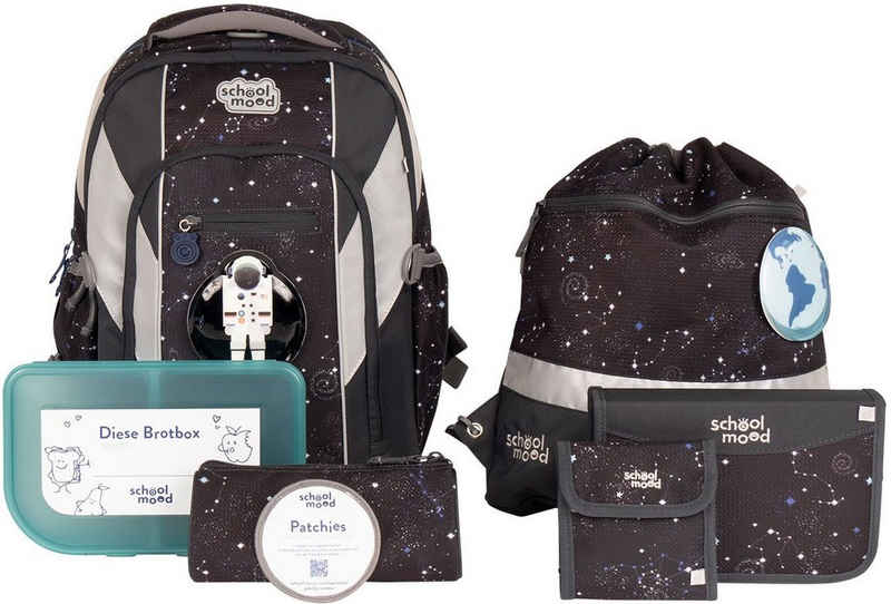 SCHOOL-MOOD® Schulrucksack »Loop Air+, Louis« (Set), aus recyceltem Material