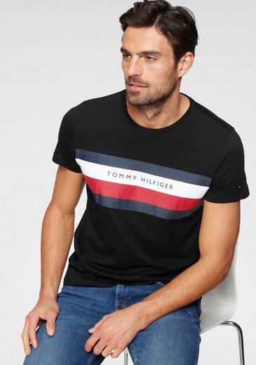 TOMMY HILFIGER T-Shirt »TOMMY HILFIGER STRIPE TEE«