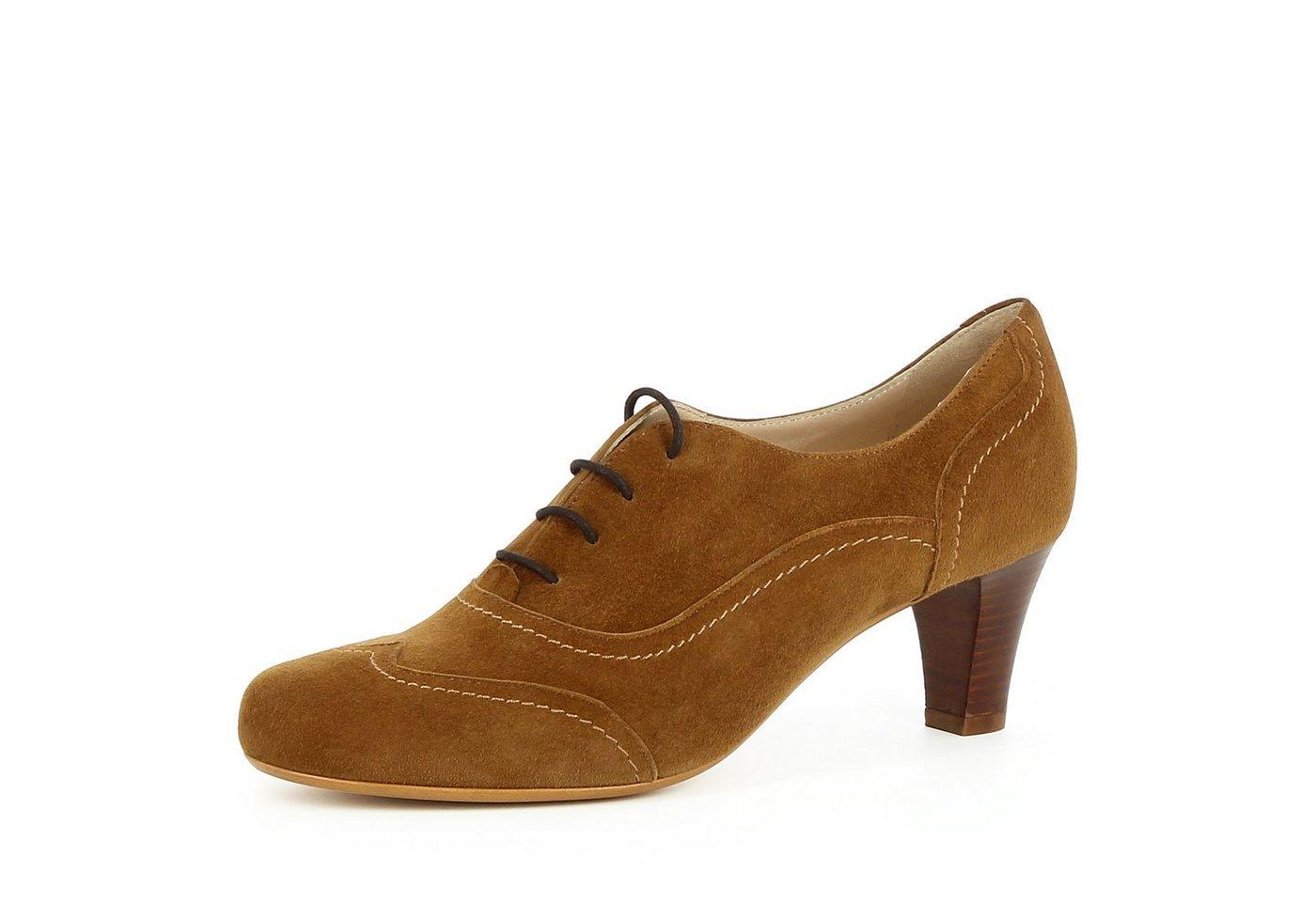 Evita »GIUSY« Schnürpumps | Schuhe > Pumps > Schnürpumps | Braun | Evita