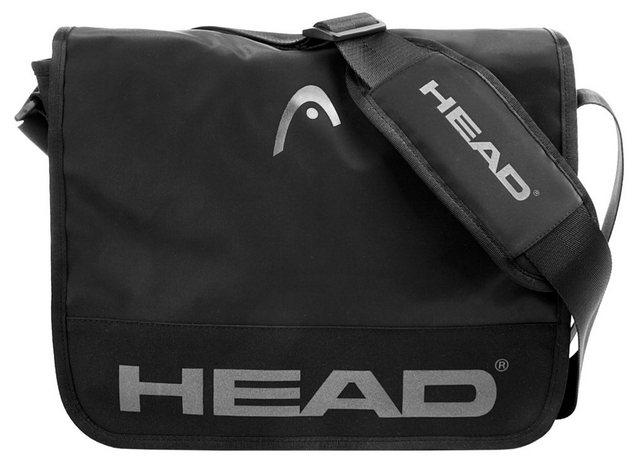 Head Messenger Bag »START«, Medienhülle | Taschen > Business Taschen > Messenger Bags | Schwarz | Head