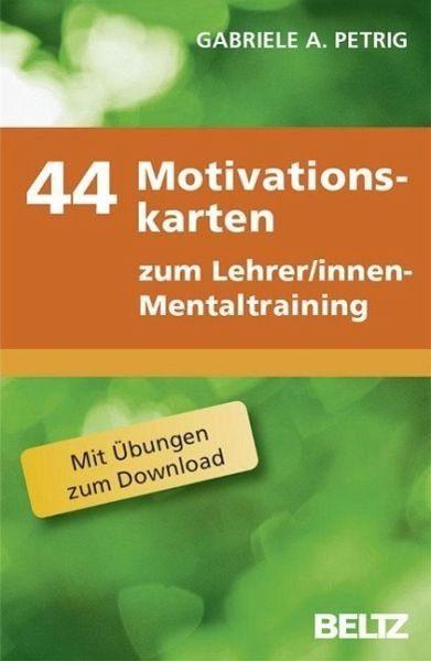 Box »44 Motivationskarten zum...«