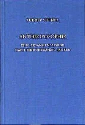 Buch mit Leinen-Einband »Anthroposophie - Eine Zusammenfassung nach...«