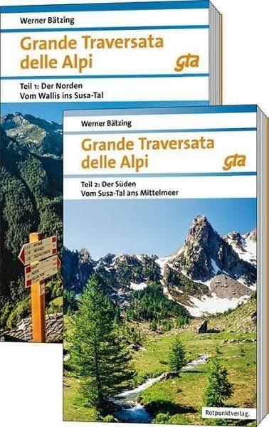 Broschiertes Buch »Grande Traversata delle Alpi Nord und Süd«