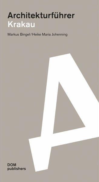 Broschiertes Buch »Architekturführer Krakau«