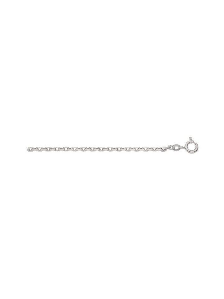 Adelia´s Silberkette »Silber 925 Sterling Silver Collier - Halskette« 925 Sterling Silber Ankerkette diamantiert   Schmuck > Halsketten > Silberketten   Adelia´s