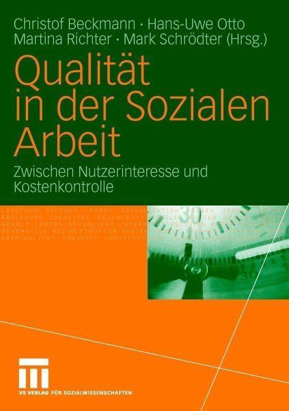 Broschiertes Buch »Qualität in der Sozialen Arbeit«
