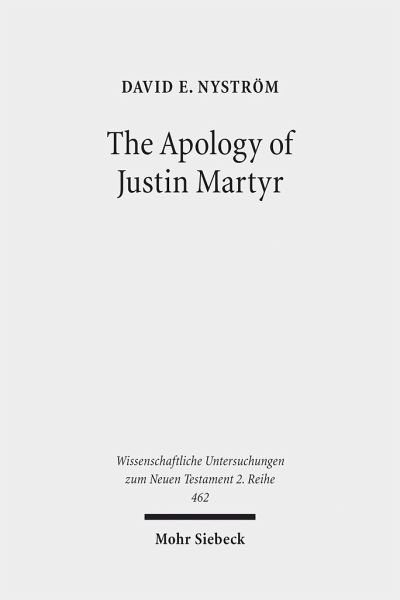 Broschiertes Buch »The Apology of Justin Martyr«