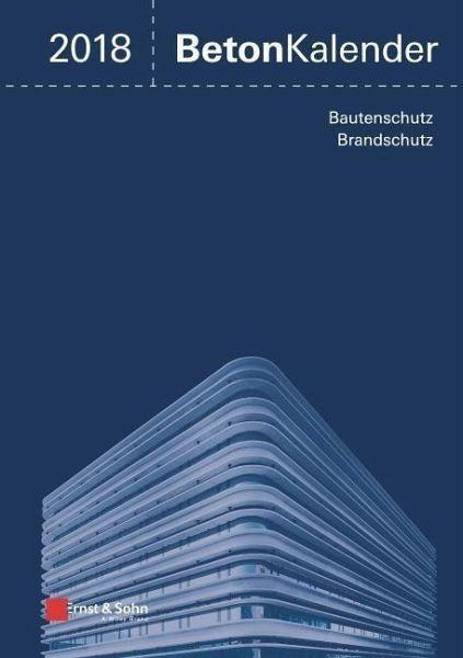 Gebundenes Buch »Beton-Kalender 2018«