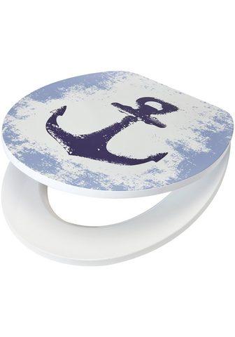 WC-dangtis »Anker« MDF Toilettensitz s...