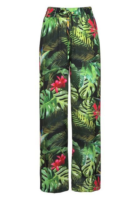 Hosen - Aniston by BAUR Schlupfhose mit Tropical Print ›  - Onlineshop OTTO