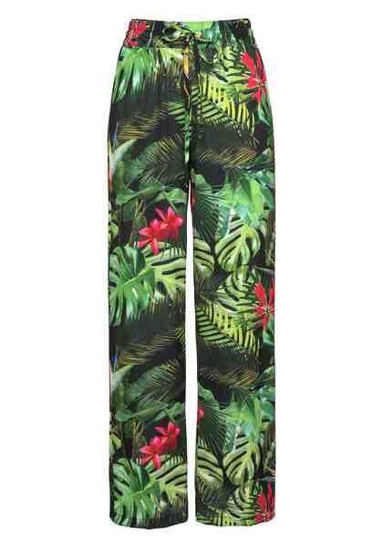 Aniston by BAUR Schlupfhose mit Tropical Print