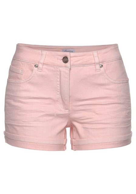 Hosen - Aniston CASUAL Shorts in pastelliger Farbpalette › rosa  - Onlineshop OTTO