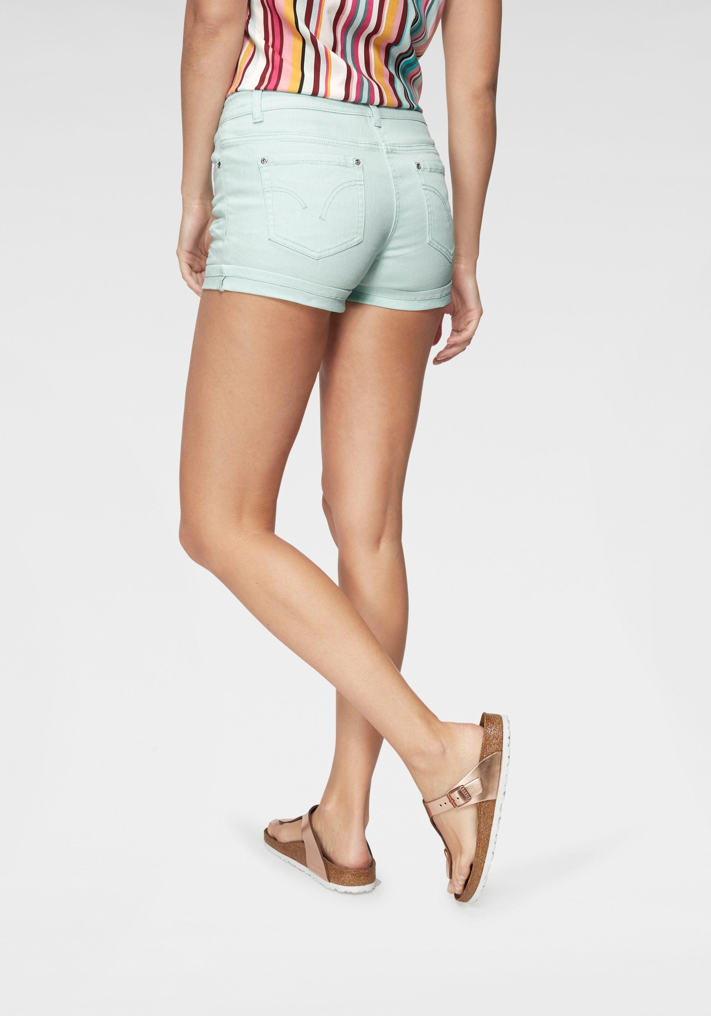 Aniston CASUAL Shorts in pastelliger Farbpalette | OTTO