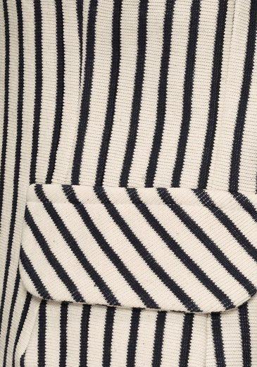 Neue Im Aniston Kollektion Sweatblazer Baur By Streifen Dessin nCxwvqfxF