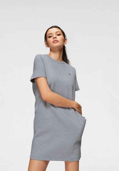 2b8ee951025 Lacoste Shirtkleid mit Farbeinsätzen an den Schultern