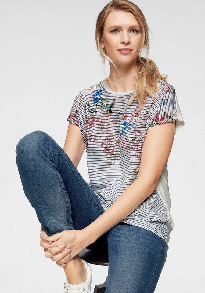 Cheer Shirtbluse mit floralem Druck -NEUE KOLLEKTION