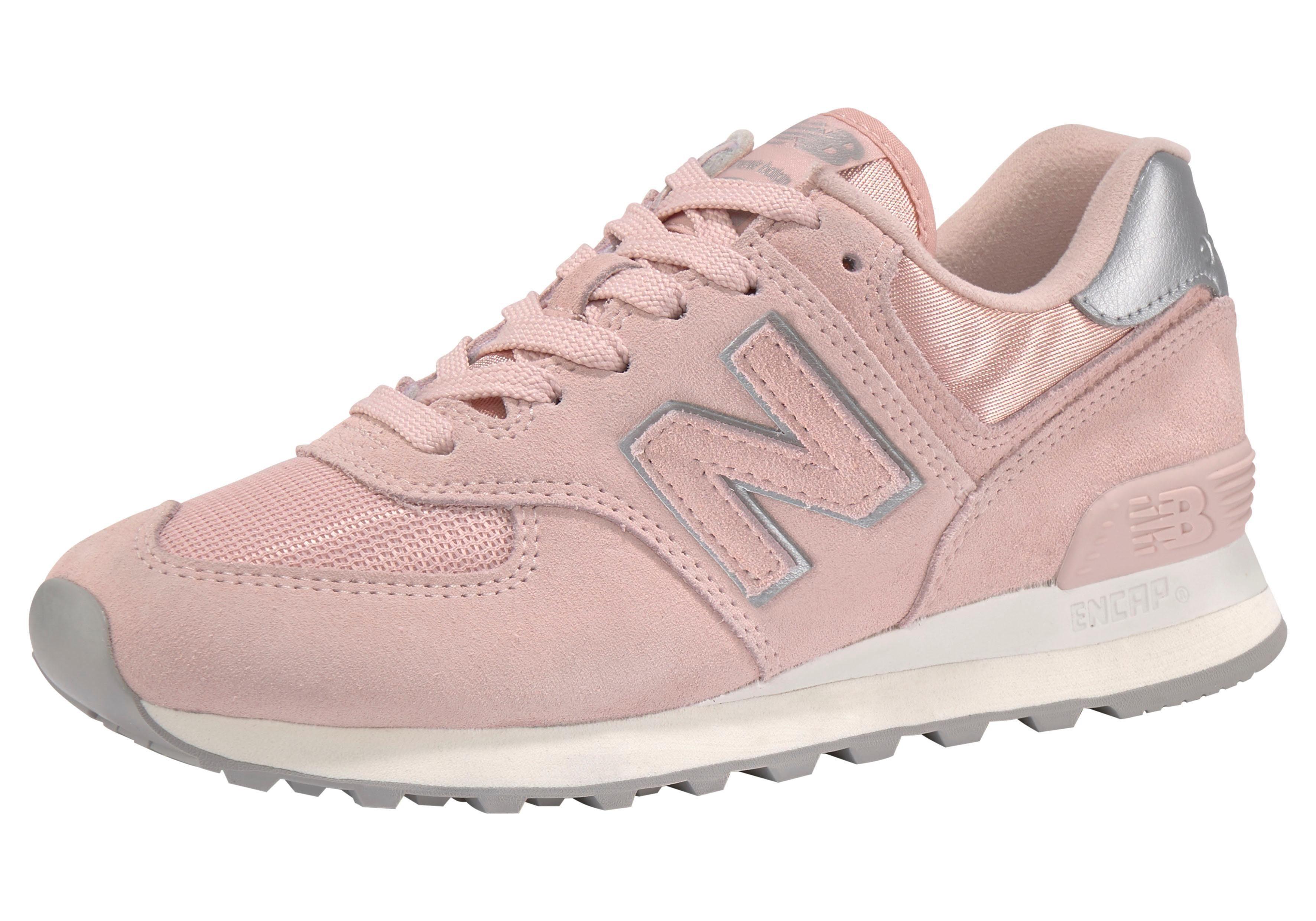 New Balance Wl220 Sneaker Low Damen Beige Schuhe Liebe